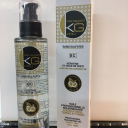 Huile Kératine et huile de Coco KERAGOLD 100ml