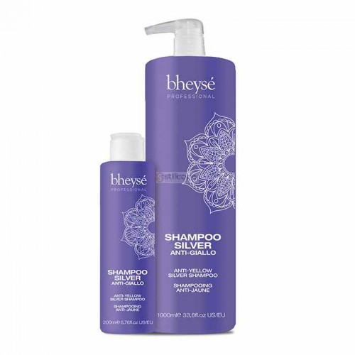 Shampooing & Après shampooing anti-jaune (SILVER)