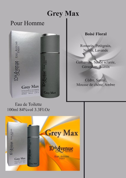 Grey Max pour Homme