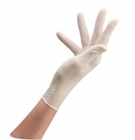Gant latex white glove