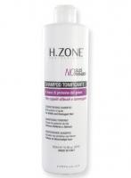 Shampoing tonifiant H-Zone sans Sodium Lauryl Sulfate et sans Paraben