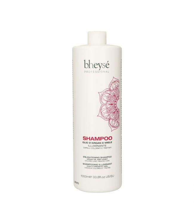 Shampooing + Masque illuminant à l'huile d'Argan et Miel